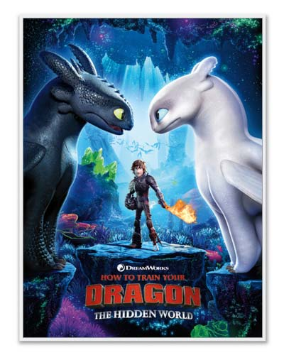 DreamWorks Dragons Poster