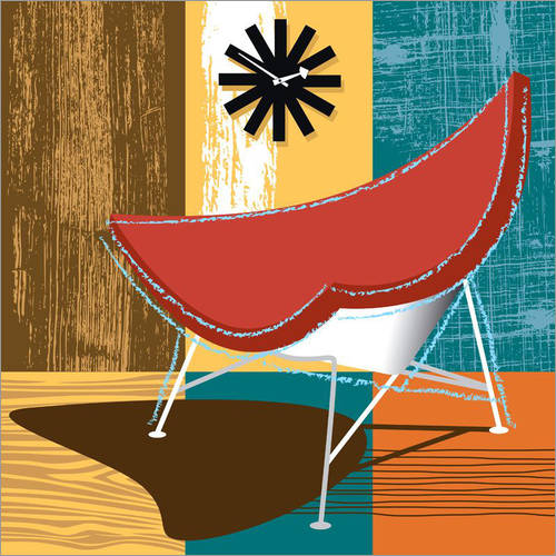 Wandsticker Coconut Chair