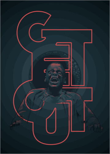Premium-Poster Get out