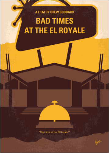 Premium-Poster Bad Times At The El Royale
