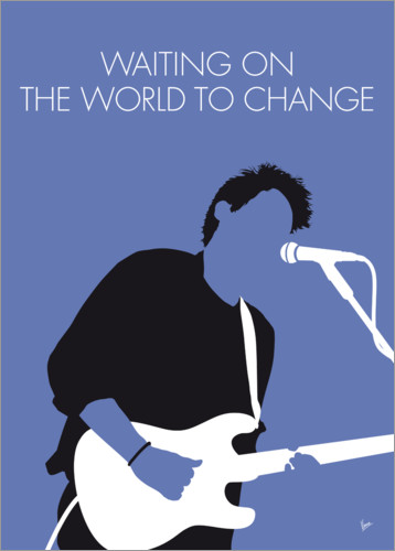 Premium-Poster John Mayer - Waiting On The World To Change