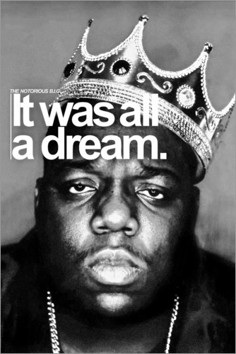 Premium-Poster The Notorious B.I.G.