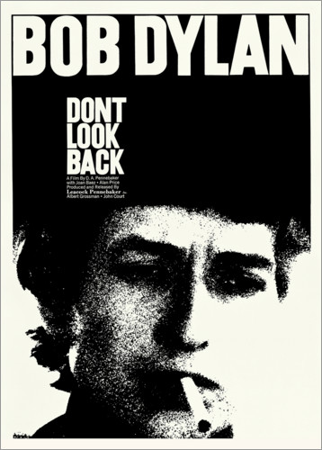 Premium-Poster Bob Dylan - Don't Look Back
