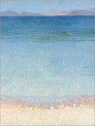 Acrylglasbild  Die Iles d'Or - Henri Edmond Cross