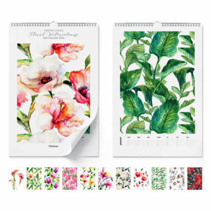 Wandkalender  Floral Watercolours 2021