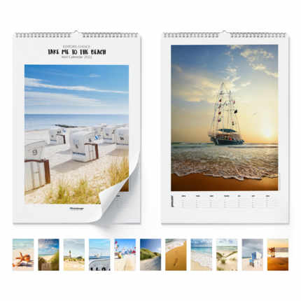 Wandkalender  Take Me To The Beach 2021
