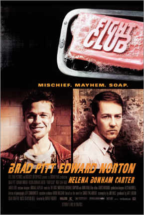 Gallery Print  Fight Club (Englisch) - Entertainment Collection