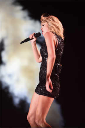 Leinwandbild  Taylor Swift in concert, F1 United States Grand Prix, Texas 2016