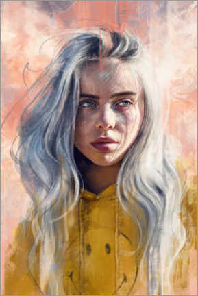Acrylglasbild  Billie Eilish - Dmitry Belov