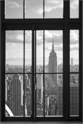 Holzbild  Empire State Building in New York - Jan Christopher Becke