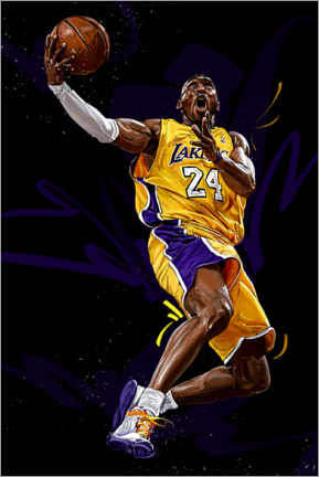 Holzbild  Kobe Bryant - Dmitry Belov