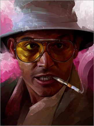 Premium-Poster Fear and Loathing in Las Vegas