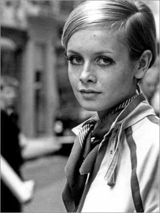 Premium-Poster Twiggy in London