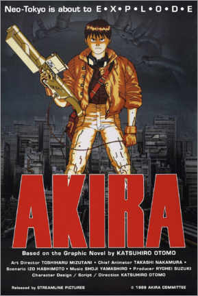 Leinwandbild  Akira - Entertainment Collection