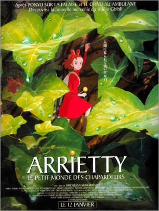 Leinwandbild  Arrietty - Die wundersame Welt der Borger (Französisch) - Entertainment Collection