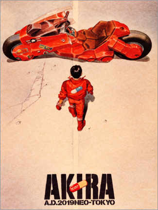 Premium-Poster  Akira - Entertainment Collection