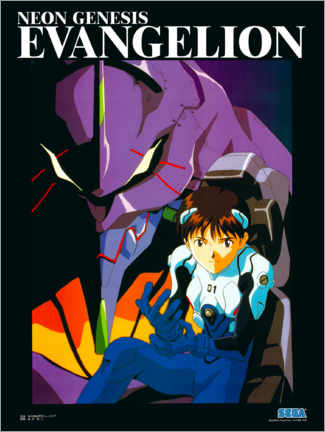 Leinwandbild  Neon Genesis Evangelion - Entertainment Collection