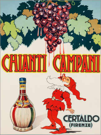 Holzbild  Chianti Campani - Advertising Collection