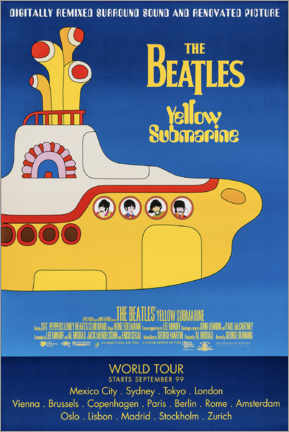 Gallery Print  The Beatles ? Yellow Submarine - Entertainment Collection