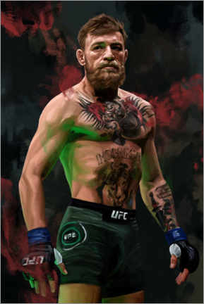 Acrylglasbild  Conor McGregor - Dmitry Belov
