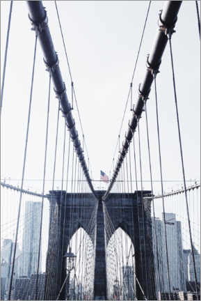 Acrylglasbild  Brooklyn Bridge - Dmitry Belov