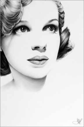 Gallery Print  Judy Garland - Ileana Hunter