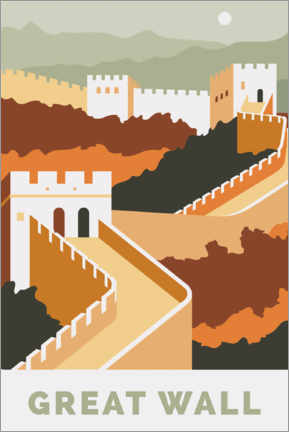 Premium-Poster Great Wall