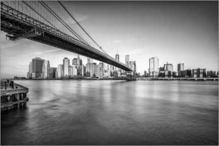 Acrylglasbild  Brooklyn Bridge - Jan Christopher Becke
