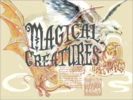 Gallery Print  Magical Creatures