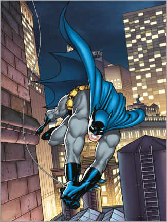 Premium-Poster  Batman Comic Held