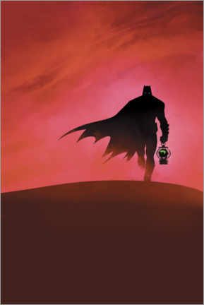 Premium-Poster  Batman - Last knight on earth