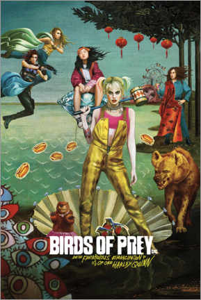 Premium-Poster  Birds of Prey - Venus