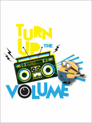 Gallery Print  Minions - Yellow sound