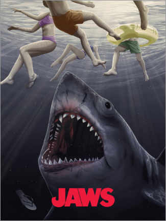 Gallery Print  Jaws - Horrorvorstellung II
