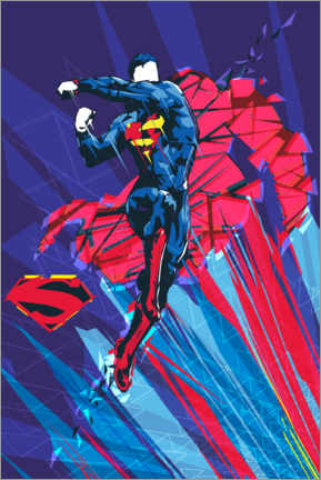 Premium-Poster  Superman Kryptonit Power