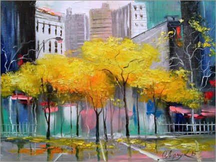 Gallery Print  Herbst in Chicago - Olha Darchuk