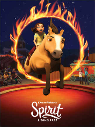 Wandsticker  Spirit Riding Free - Manege