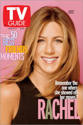 Holzbild  Rachel - Friends - TV Guide