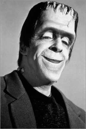 Premium-Poster The Munsters, Fred Gwynne