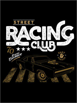 Acrylglasbild  Street racing club