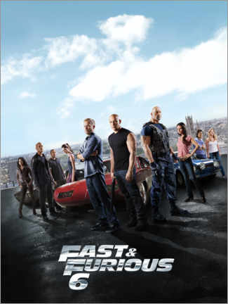Gallery Print  Fast & Furious 6