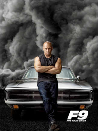 Gallery Print  F9 - Dominic Toretto