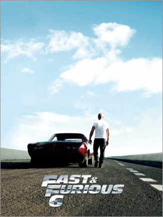 Holzbild  Fast & Furious 6 - Dominic Toretto