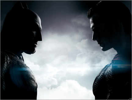 Premium-Poster  Afflec v Cavill - Batman v Superman: Dawn of Justice