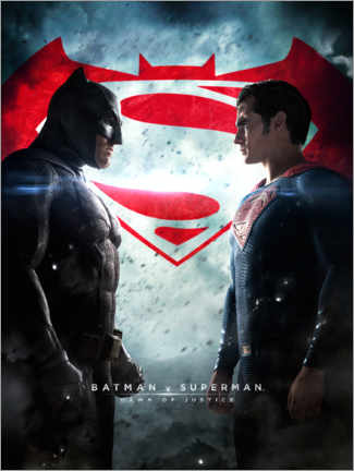Premium-Poster  Batman v Superman: Dawn of Justice 2016