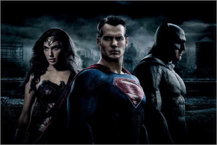 Premium-Poster  Batman v Superman - Wonderwoman