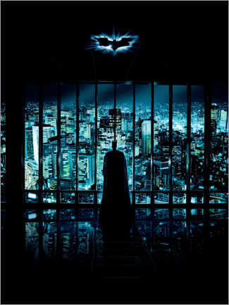 Premium-Poster  Batman - The Dark Knight 2008 - Gotham