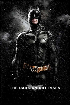 Premium-Poster  The Dark Knight Rises - Batman