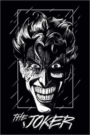 Premium-Poster  The Joker - Smile