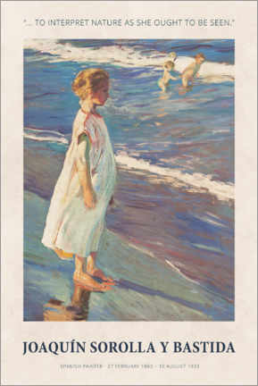 Gallery Print  Joaquín Sorolla y Bastida - To interpret nature - Museum Art Edition